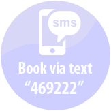Book Taxi via Text on 469222